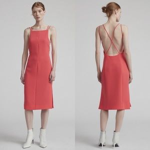 Rag & Bone Denton Knee Dress Viscose & Nylon Dress